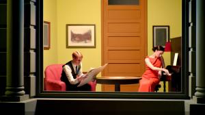 Edward Hopper room in New York.