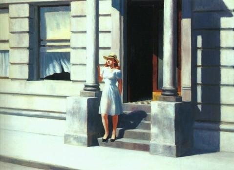 pittura edward-hopper-summertime
