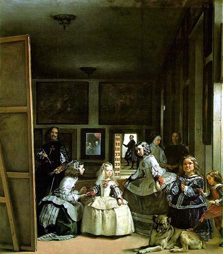 Pittura Velazquez Las Meninas