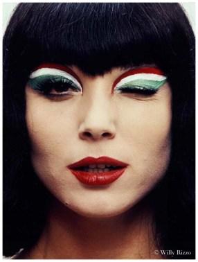 Elsa Martinelli, 1967 trucco tricolore