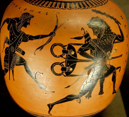 grecia TRIPODE raffigurante Apollo