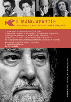Il Mangiaparole n 13 Mario Lunetta