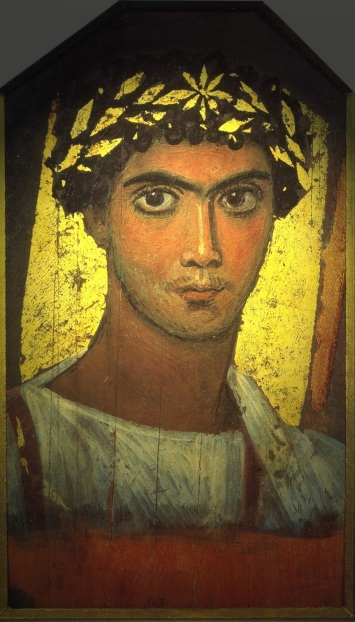 roma Fayum ANTINOOPOLIS is the site of some of the most spectacular portrait art ever found in Egypt.