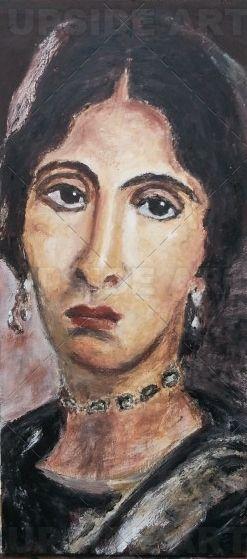 Fayyum femme portrait
