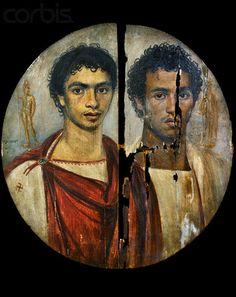 Fayyum, ritratto di  fratelli