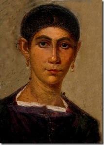 Fayyum, ritratto femminile Mummy 120-140 d.C.