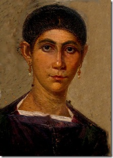 Fayyum, ritratto maschile Mummy 120-140 d.C.