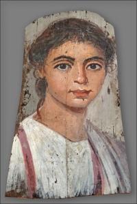 Fayyum portrai d'enfant