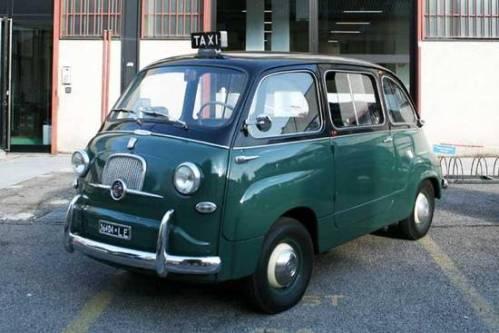 città la Seicento taxi anni Sessanta