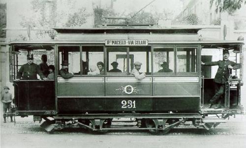 città vecchio tram