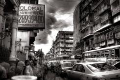 città nel traffico urbano
