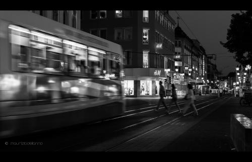 città in bianco e nero