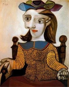 La camicia gialla (dora maar), 1939 di picasso