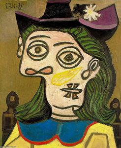 Pittura Picasso-Dora-Maar