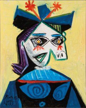 Picasso tete de femme (Portrait of Dora Maar)