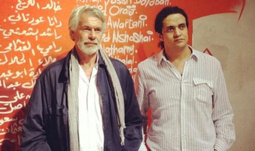 Ashraf-Fayadh-right-with-art-historian-Chris-Dercon