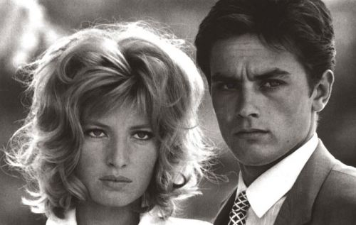 cinema Alain Delon e Monica Vitti