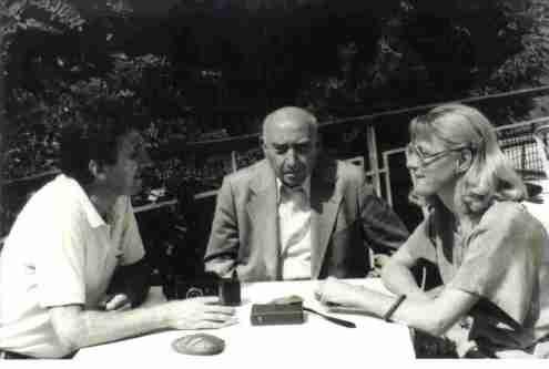 Duska Vrhovac Alaetin Tahir,  Fazıl Hüsnü Dağlarca Struga, Macedonia 1986