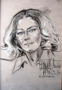 Duska Vrhovac Chantal - Duska, ritratto di poetessa, Parigi 84