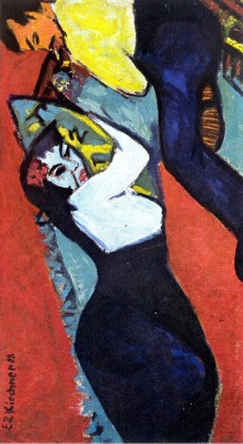pittura Ernst Ludwig Kirchner, 1911