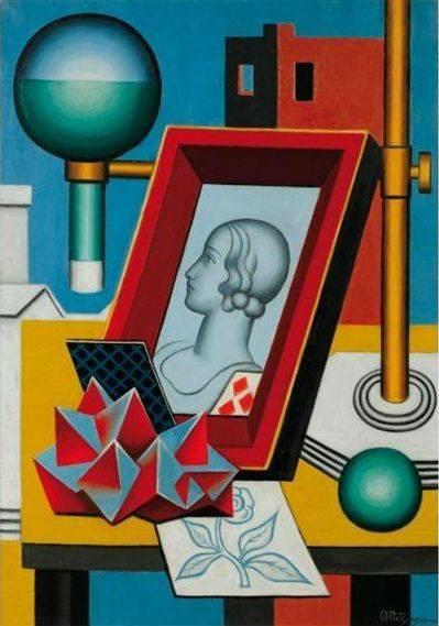 pittura Jean Metzinger, Anachronisme, c. 1927
