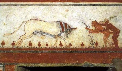 etruschi-tomba-dei-tori-tarquinia 4