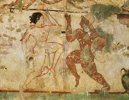 etruschi-tomba-delle-leonesse-tarquinia 5