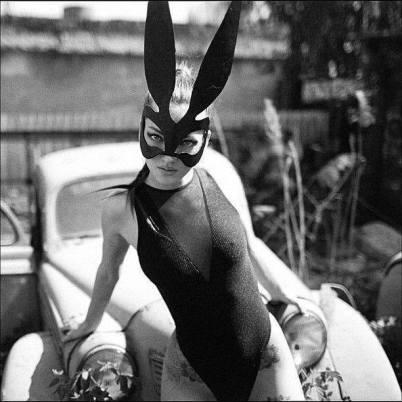 foto donna mascherata