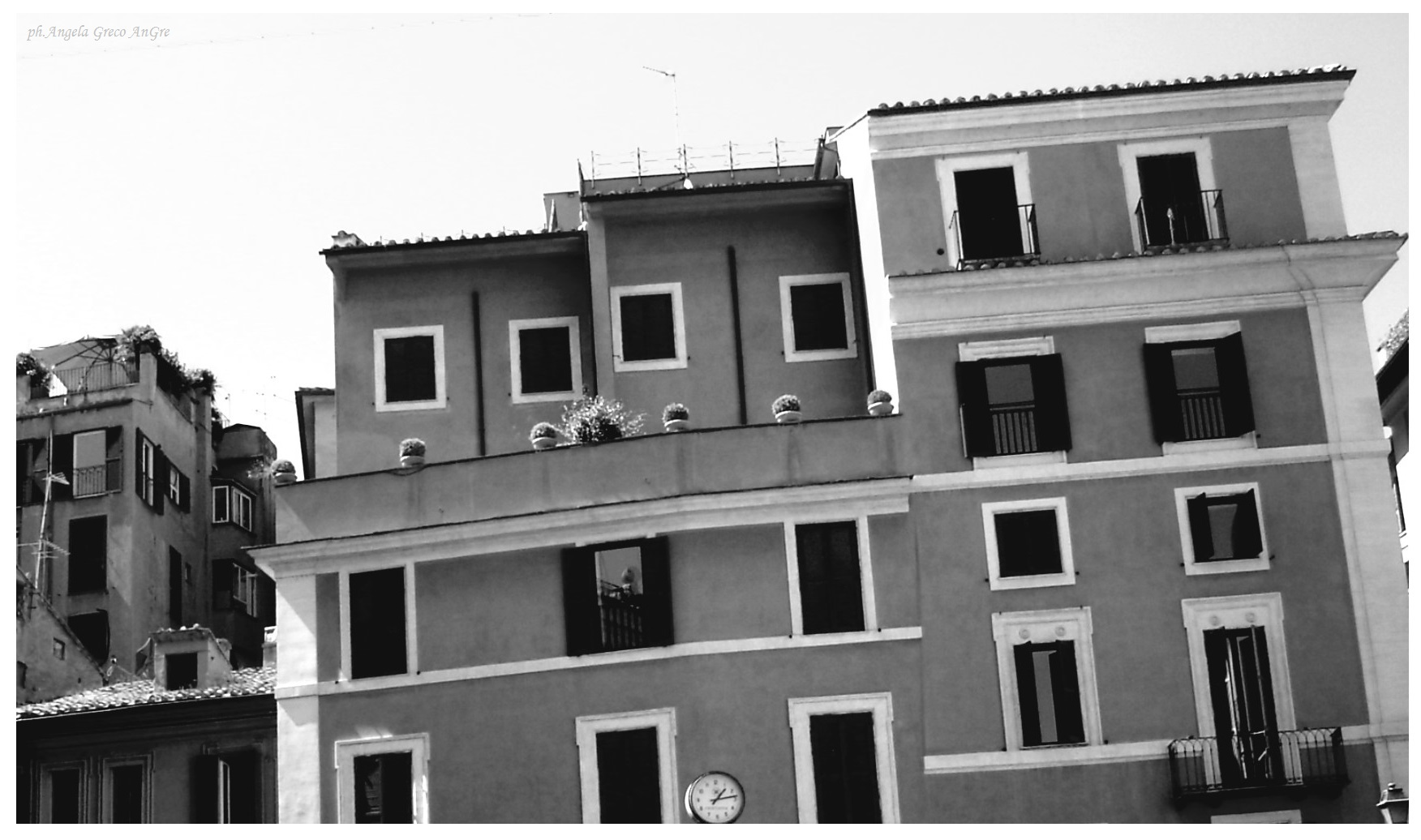 Roma ora di pranzo di Angela Greco