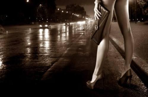 foto donna di strada