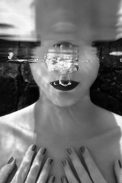 foto in acqua