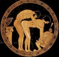 grecia scena erotica con efebo