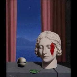 pittura René Magritte La memoire