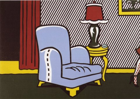 roy lichtenstein interior series