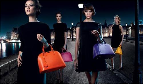 foto ipermoderno L'ultima fermata della campagna Chic on the Bridge Louis Vuitton ci riporta a Parigi