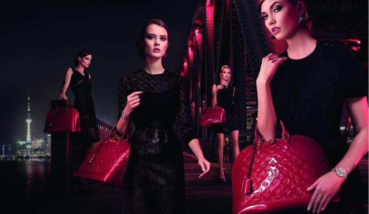 foto Louis Vuitton L'ultima fermata della campagna Chic