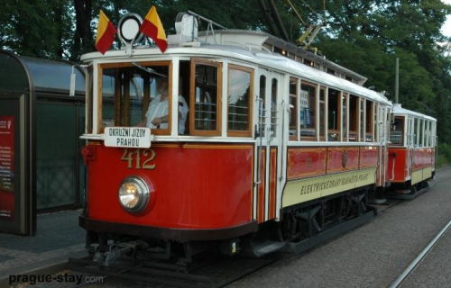 città prague nostalgic 20 tram