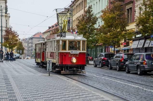 Città Strassenbahn_Praga