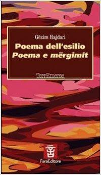 Gezim Hajdari Poema dell'esilio COPERTINA FARA