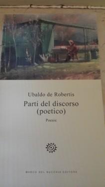 Ubaldo De Robertis COP Parti del discorso (poetico)