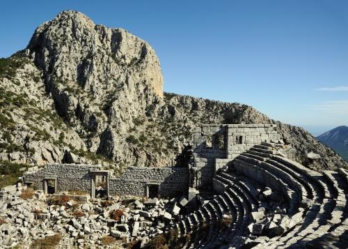 Steven TAV Termessos Amphitheatre