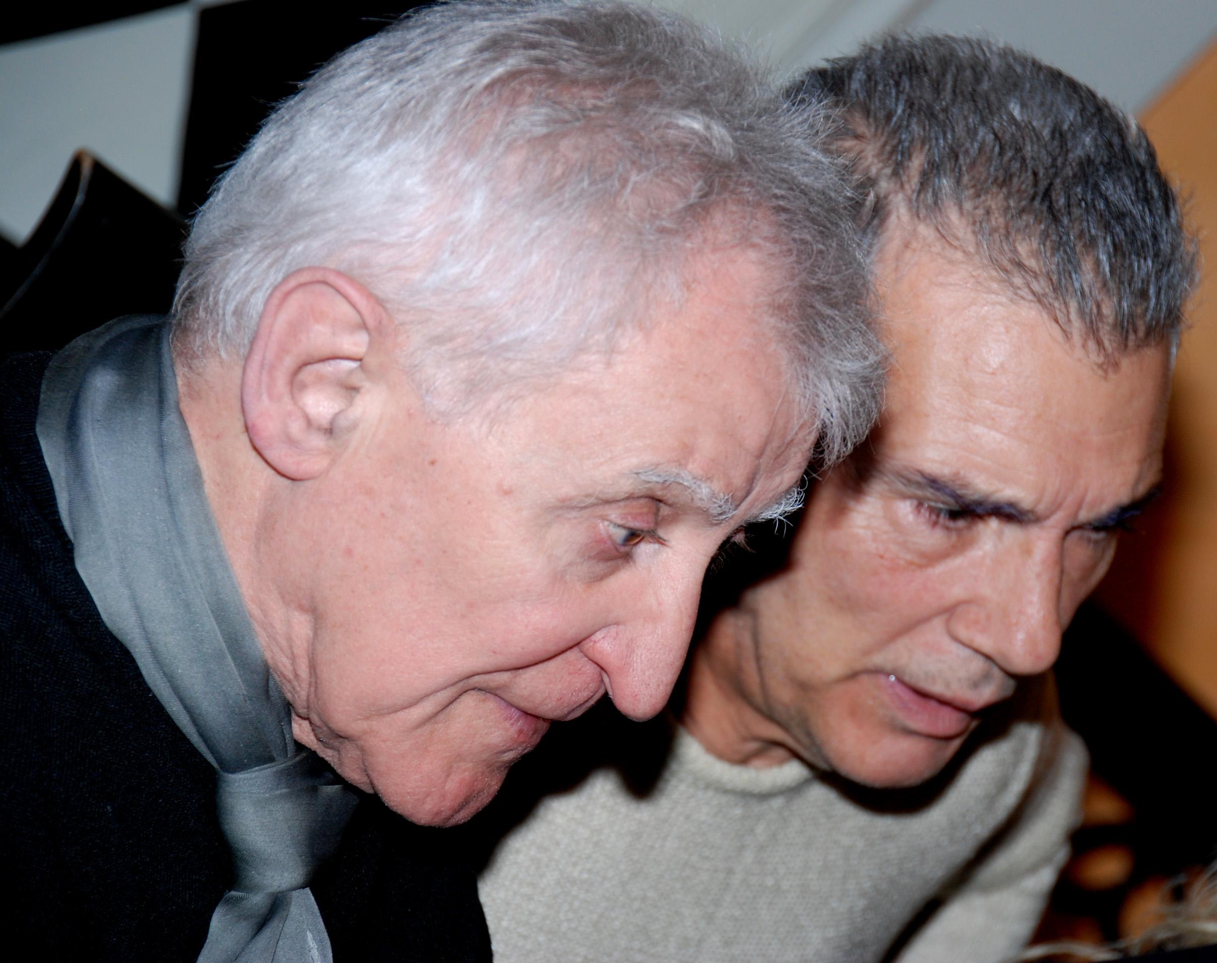 Alfredo De Palchi e Giorgio Linguaglossa, Roma, 2011