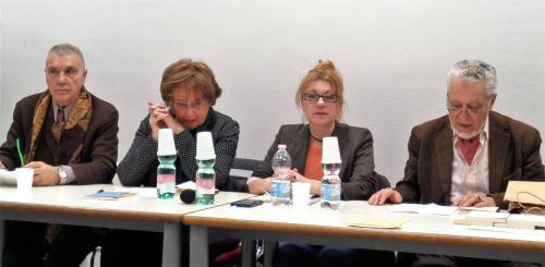 Giorgio Linguaglossa G. Palli Barone Letizia Leone Roberto Piperno 9 marzo 2017