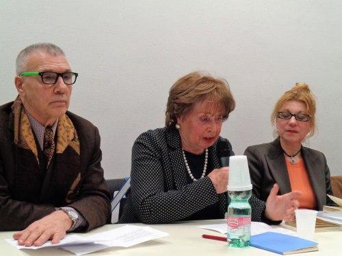Giorgio Linguaglossa Letizia Leone gabriella Palli Barone 9 marzo 2017