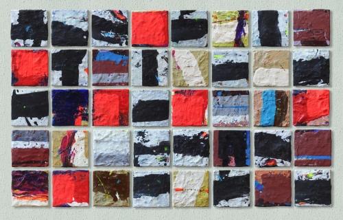 Lucio Mayoor Tosi Composition acrilic