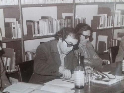 Pier Paolo Pasolini e Franco Di Carlo, 1969