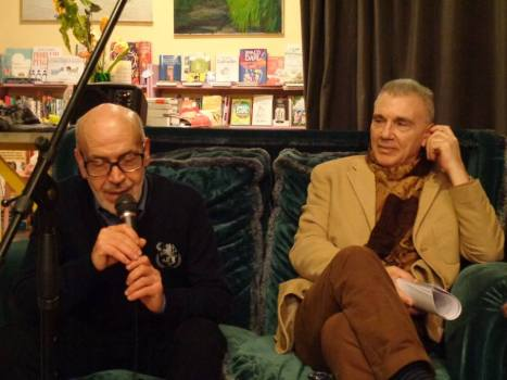 Laboratorio 30 marzo Franco Di Carlo e Giorgio Linguaglossa