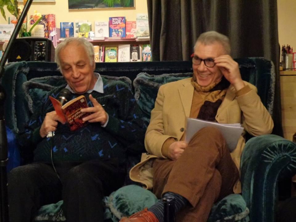 Laboratorio 30 marzo Sabino Caronia e Giorgio Linguaglossa