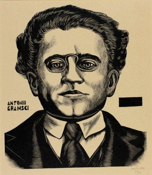 Antonio Gramsci - Leopoldo Mendez 1969