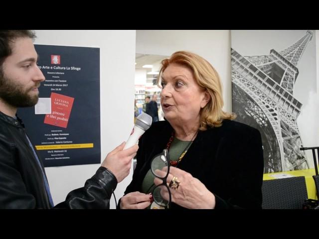 Luciana Gravina intervista